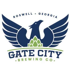 Logo for Gate City Brewing in Roswell, GA