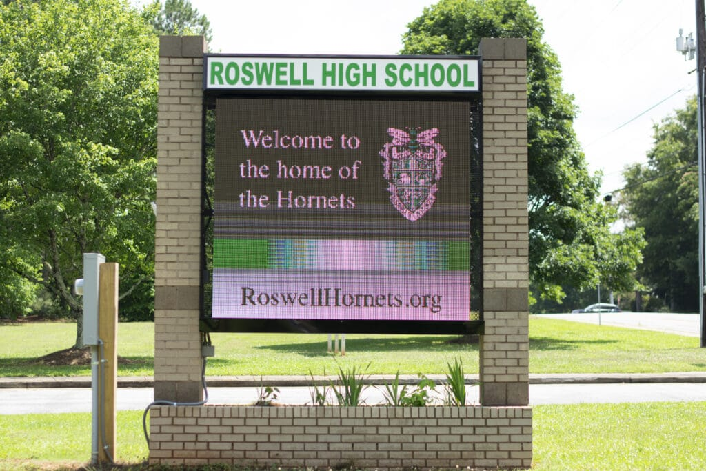 Roswell High School Real Estate